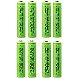 AAA Battery for Panasonic, VANON 1000mAh HHR-4DPA Replacement Battery for Panasonic, 1.2V Ni-MH Rechargeable Cordless Phone Battery, Pack of 8