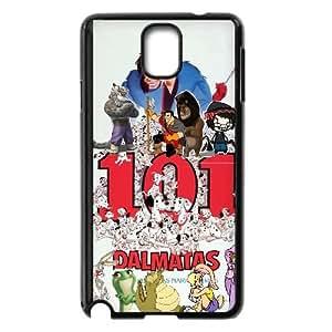 Samsung Galaxy Note 3 Phone Case Black 101 Dalmatians (Animated) 011 PW1544411