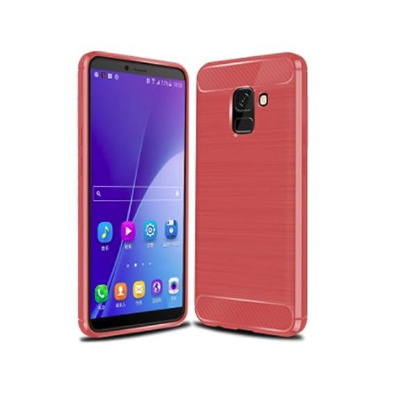 new products b5be5 882e3 Amazon.com: Samsung Galaxy J6 2018 Case, AVIDET Shock-Absorption ...