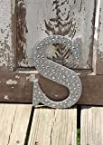 Sparkle Silver Bling Decorative Wall Letters, Wedding Decor