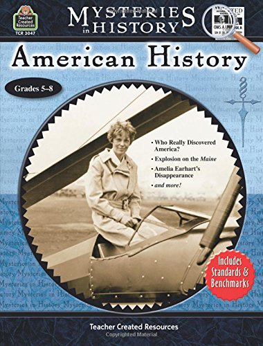 Mysteries in History: American History [Wendy Conklin] (Tapa Blanda)