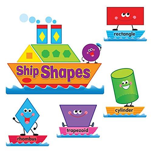 Bulletin Shapes Board Set (Ship Shapes & Colors Bulletin Board Set)