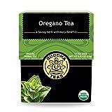 Organic Oregano Tea - Kosher, Caffeine-Free, GMO-Free - 18 Bleach-Free Tea Bags
