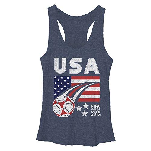 FIFA Retro USA Womens Graphic Racerback Tank - Fifth Sun