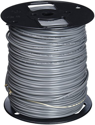 Carol E1032S.18.10 2 Sound, Alarm and Security Cable, Multi-Conductor, Unshielded, Riser, Gray Premium-Grade, Gray PVC, 500' ()