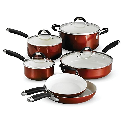 Tramontina 80110 220DS Style Ceramica_01 10 Piece Cookware Set