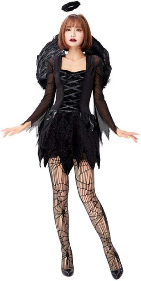 FUPOA Ropa de Fiesta de Carnaval de Halloween Demon Devil Angel ...
