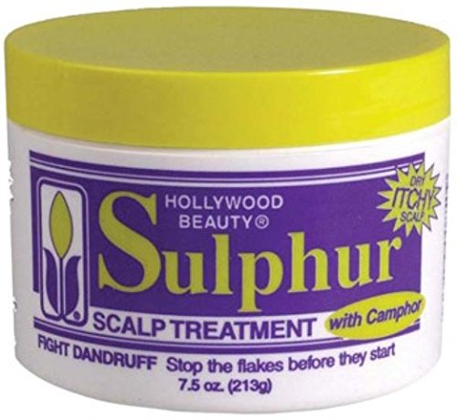Hollywood Beauty Sulpher Scalp Treatment, 7.5 oz (Pack of 3)