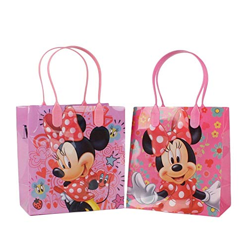 Disney Minnie Mouse Small Party Favor Goody Bags 12x by -