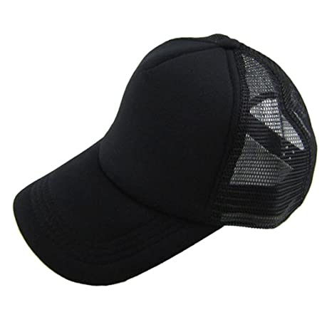 f14a1bff Clemunn Hot Sale Casual Baseball Cap Unisex Adjustable Mesh Blank Snap Back Hat  Hats Snapback Trucker
