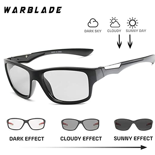 WBL - Gafas de Sol polarizadas fotocromáticas, unilentes ...