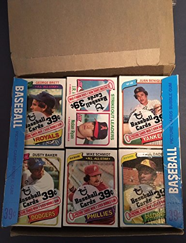 1980 TOPPS BASEBALL CELLO PACK - 1 PACK OF 25 (Baseball Cello Pack)