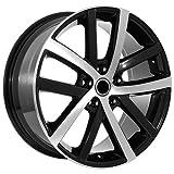 vw rims 18 - 18 Inch Black Rims Volkswagen Vw Wheels Eos Jetta Gti Golf Cc Rabbitt
