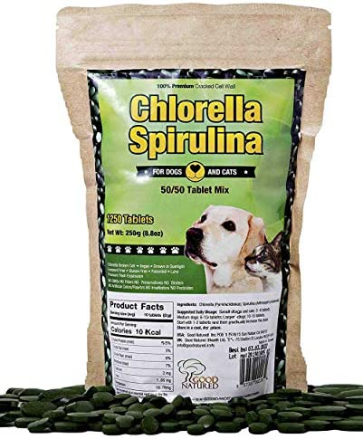 Vitamins Chlorella Spirulina Good Natured product image
