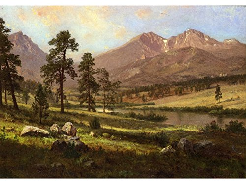 Long's Peak, Estes Park, Colorado by Albert Bierstadt