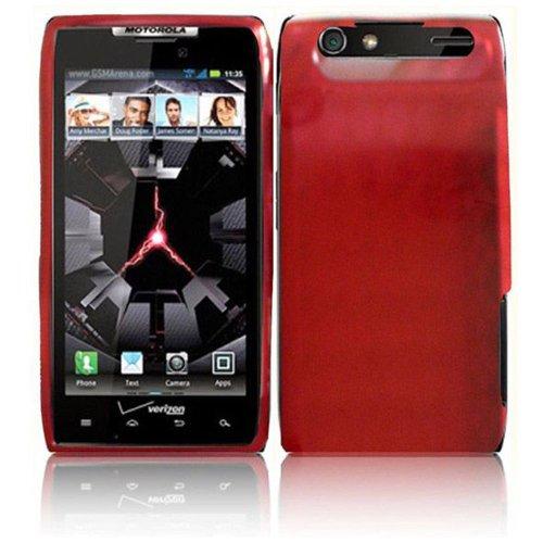 Motorola Green Transparent Faceplates (LF 4 In 1 Bundle - TPU Agryle Flexible Gel Case Cover, Stylus Pen, Screen Protector & Wiper For Vrrizon Motorola Droid Razr 4G XT910 / XT912NOT compatible with Razr MAXX) (TPU Red))
