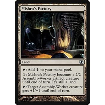 Toys & Hobbies Magic the Gathering MISHRA'S FACTORY Duel Deck Elspeth vs Tezzeret ITALIAN