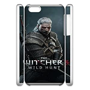 iPhone 6 Plus 5.5 Inch 3D Phone Case White The Witcher F6560782