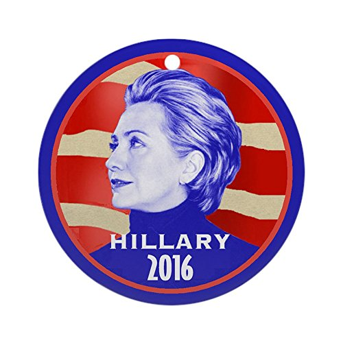 CafePress Hillary Ornament Holiday Christmas