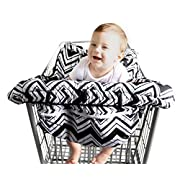 BABEL'E Baby Shopping Cart Cover by (Chevron)