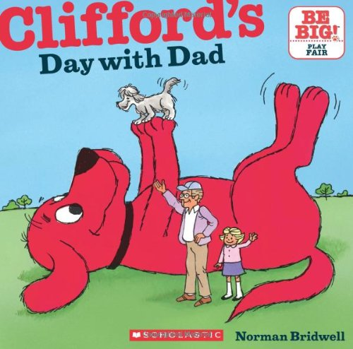 dad clifford book father's day for kids