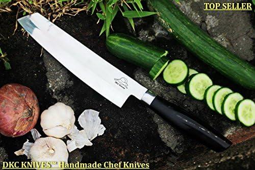 Amazon.com: DKC-534-440C MUSAKA - Cuchillo para chef (440 C ...