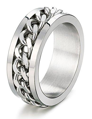 FIBO STEEL Stainless Engagement Wedding