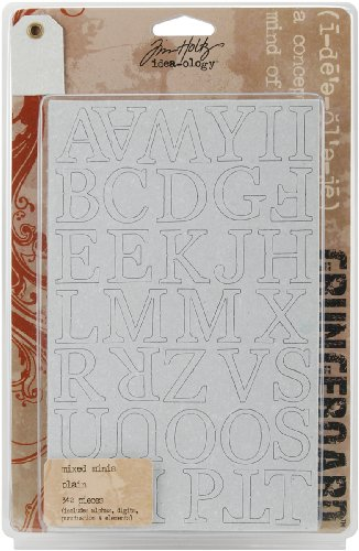 Advantus Corporation Grungeboard Minis, Plain Alphabet