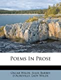 Poems in Prose, Oscar Wilde, 1248771370