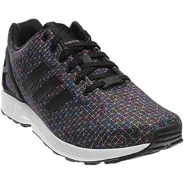 new styles a6607 5197b adidas Men s ZX Flux Multi Color Black Prism Print Fashion Shoes (9 D(M