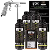 U-POL Raptor Tintable Urethane Spray-On Truck Bed Liner Kit with Spray Gun, 4 Liters