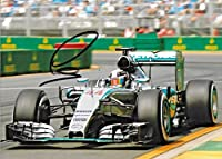 2017 Lewis Hamilton Formula 1 F1 Mercedes Benz Petronas Signed 6x8 Photo - Autographed Extreme Sports Photos from Sports Memorabilia