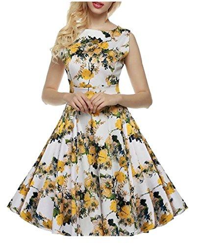 25 Vintage Style Audrey Dress Sleeveless Hepburn Women 1950s Jaycargogo Party SqOzwBx