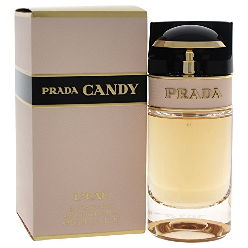 Prada Candy L'eau Eau de Toilette Spray, 1.7 Ounce