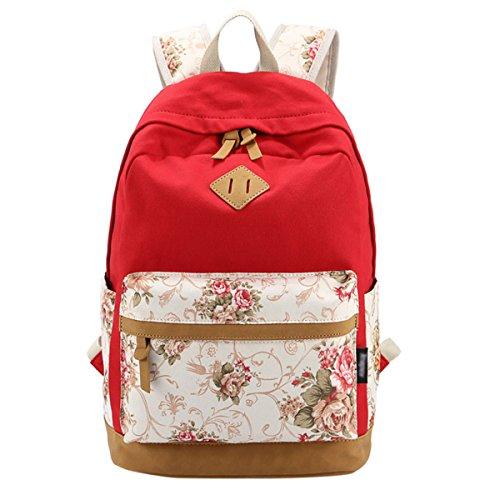 Canvas Backpack Lightweight Bookbag Backpacks