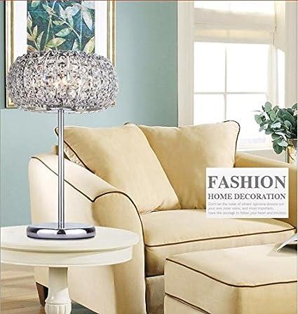 TTR moderno Crystal lámparas para salón dormitorio hierro ...
