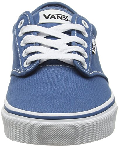 White Blu Blue Vans Stitch Atwood Uomo Sneaker Contrast tqxwRn16Hw
