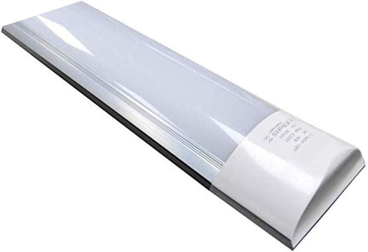 Luminaria Lámpara de techo LED 120 cm. 40w. Color Blanco Frio (6500K). 3300 Lumenes. Tubo LED 120cm T8 Integrado. A++