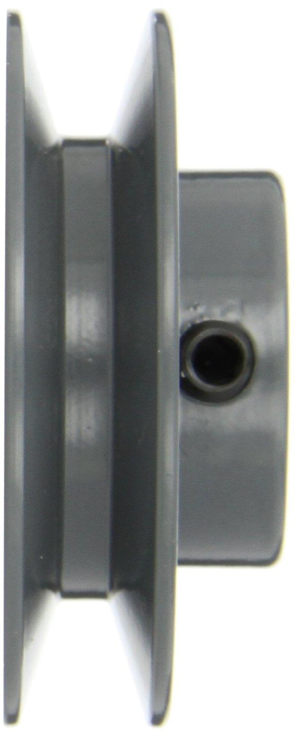 3//4 Bore 2.8 OD 3//4 Bore CECOMINOD035731 1 Groove AK Type Gates AK28 Light Duty Web Sheaves 2.8 OD