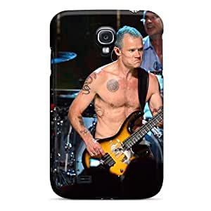 Shock Absorbent Hard Phone Case For Samsung Galaxy S4 With Allow Personal Design Vivid Red Hot Chili Peppers Image RichardBingley