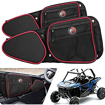 1Pair Rear Door Bag with Knee Pad For 2015-2017 Polaris RZR XP 1000 4 900