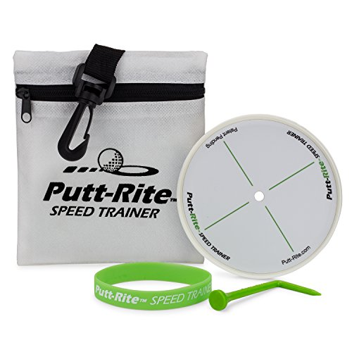 Putt-Rite Speed Trainer - Putting Training Aid to Perfect Putting (Golf Digest Putting)