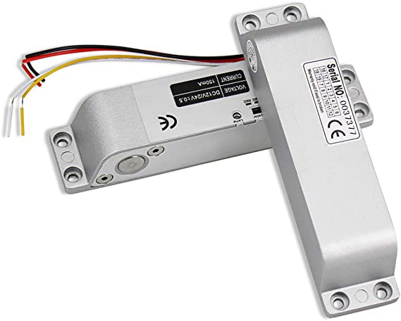 Magnetic locating delay adjustable power-off-open NC//NO//COM output Bolts Locks