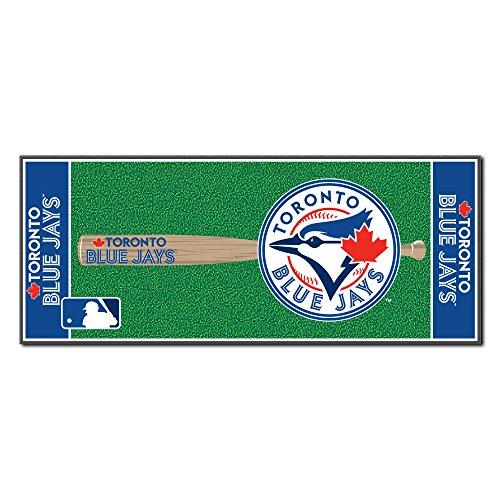 (FANMATS MLB Toronto Blue Jays Nylon Face Football Field)
