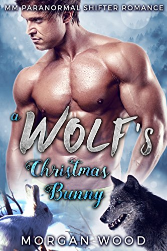 A Wolf's Christmas Bunny: MM Gay Mpreg Shifter Romance (Winter Wolves Book 1)