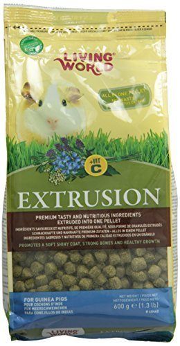 Living World Guinea Pigs Extrusion Diet, 1.3Pound by Living World