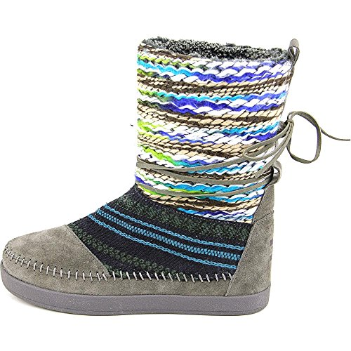 Toms Womens Boot Nepal Forgiato Grigio Ferro
