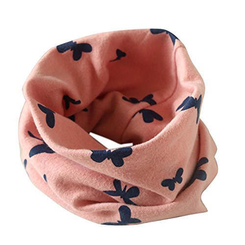 (FEITONG Fashion Kids Baby Infant Autumn Winter Boys Girls Collar Baby Butterfly Scarf Cotton O Ring Neck Scarves)