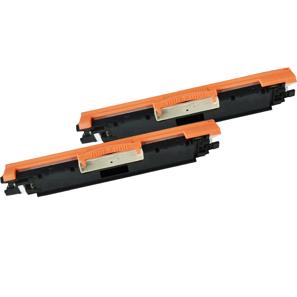 2 Inkfirst® Black Toner Cartridge CF350A BK (130A) Compatible Remanufactured for HP Pro MFP M177fw M176 Black Ink First IF-CF350A-2PACK(A)