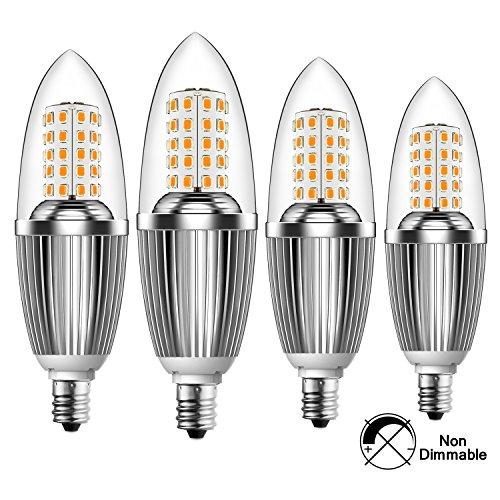 Infinite Power Candelabra Led Bulbs 12w Warm White 3300k Led Candle